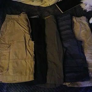 Other - 5 cargo shorts.